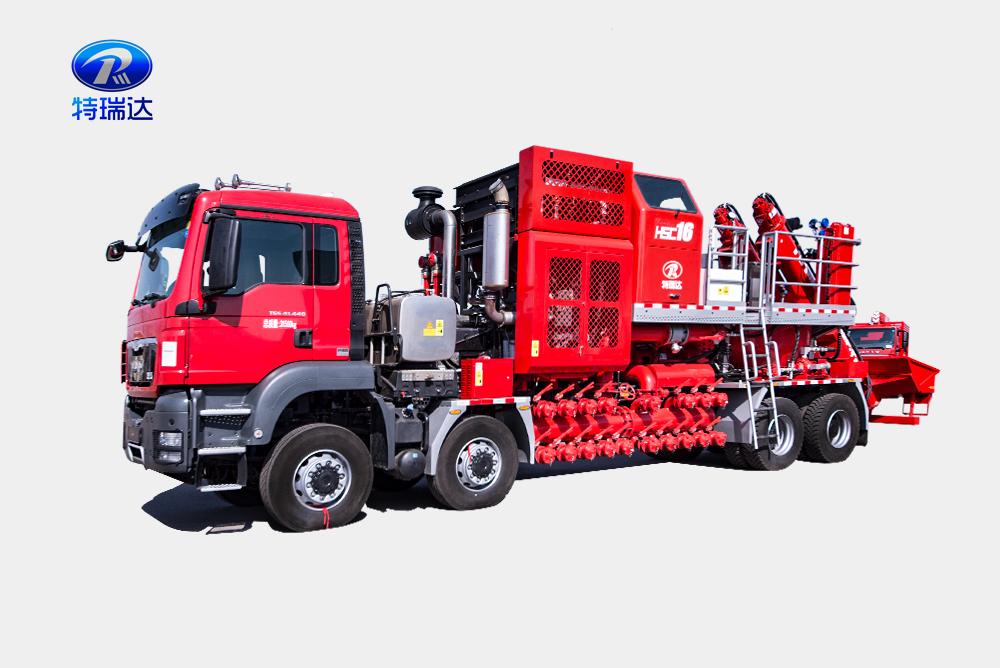 100-Tank Fracturing Blender Truck