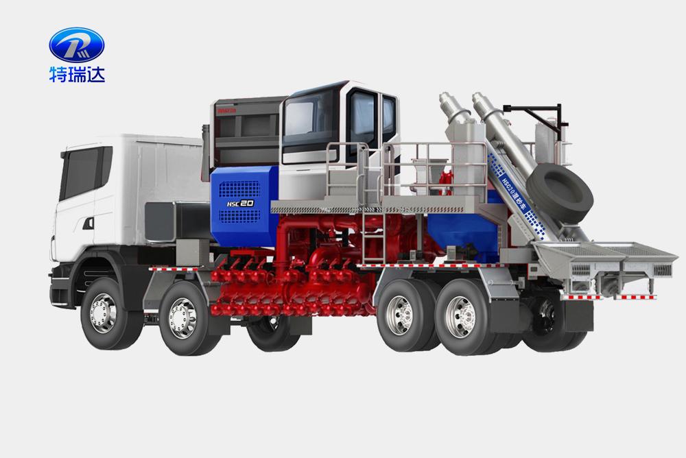 130桶混沙车